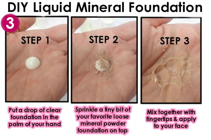 Diy organic liquid mineral ant aging healing foundation how to use liquid mineral foundation solutioingenieria Choice Image