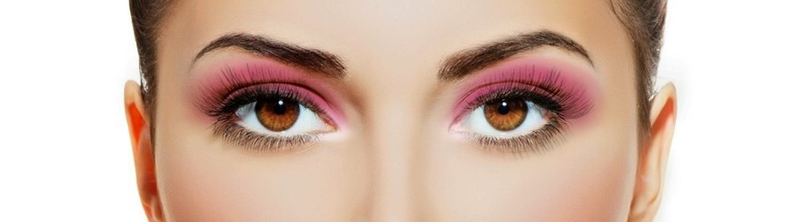 pink mauve red mineral eyeshadow eye shadow