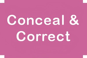 Conceal & Correct