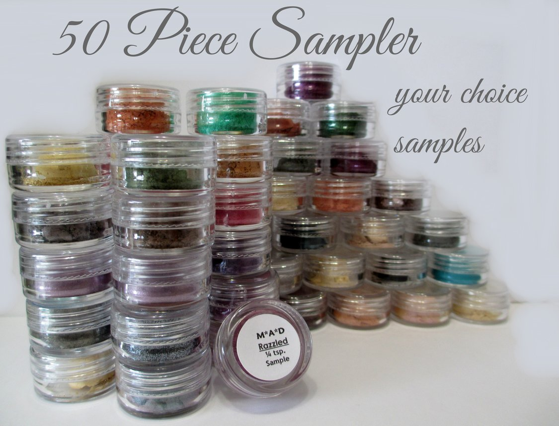 50 PC. MEGA DELUXE VALUE SAMPLER SET - YOU CHOOSE THE COLORS