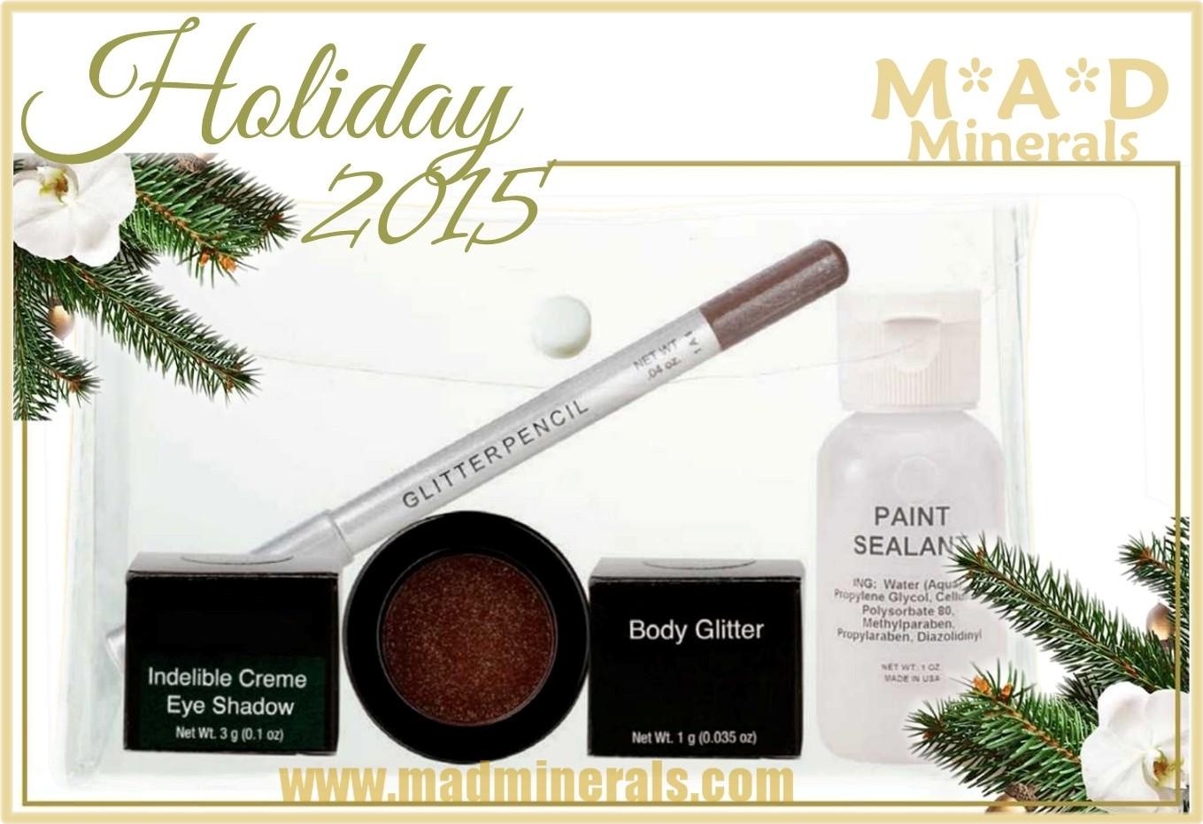Pre-Order 5 Piece Holiday 2015 Glitz & Glam Kit