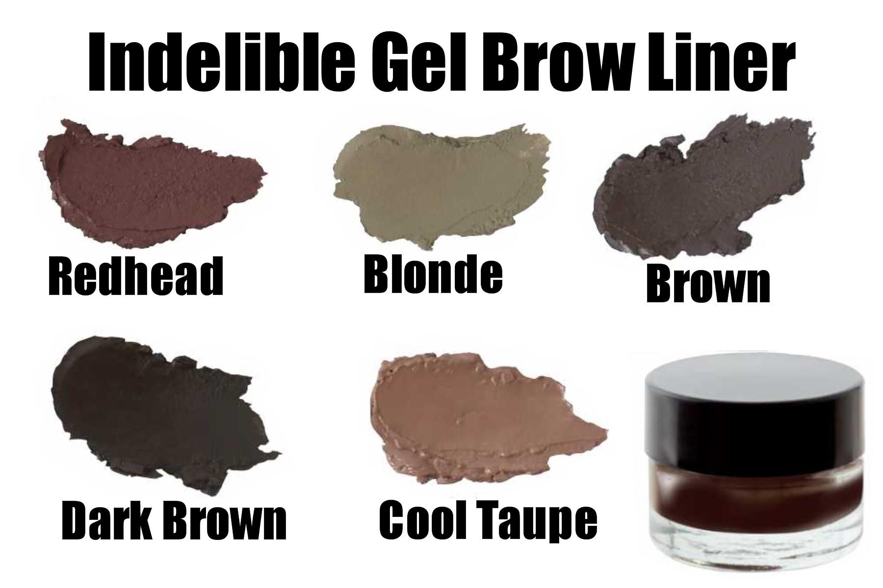 Pre-Order Indelible Gel Brow Liner