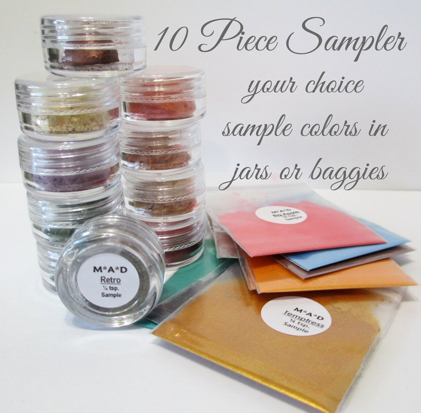 10 PC. VALUE SAMPLER SET - YOU CHOOSE THE COLORS