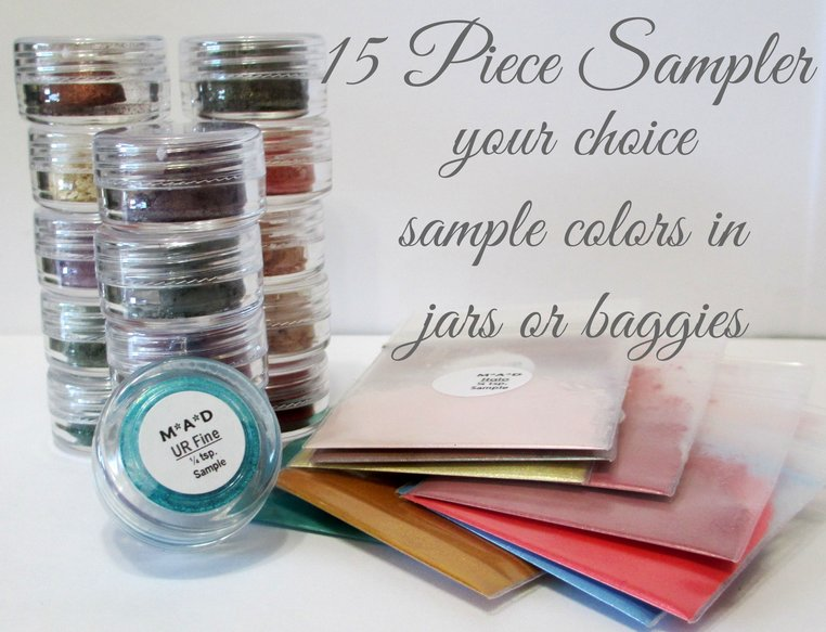 15 PC. SUPER VALUE SAMPLER SET - YOU CHOOSE THE COLORS