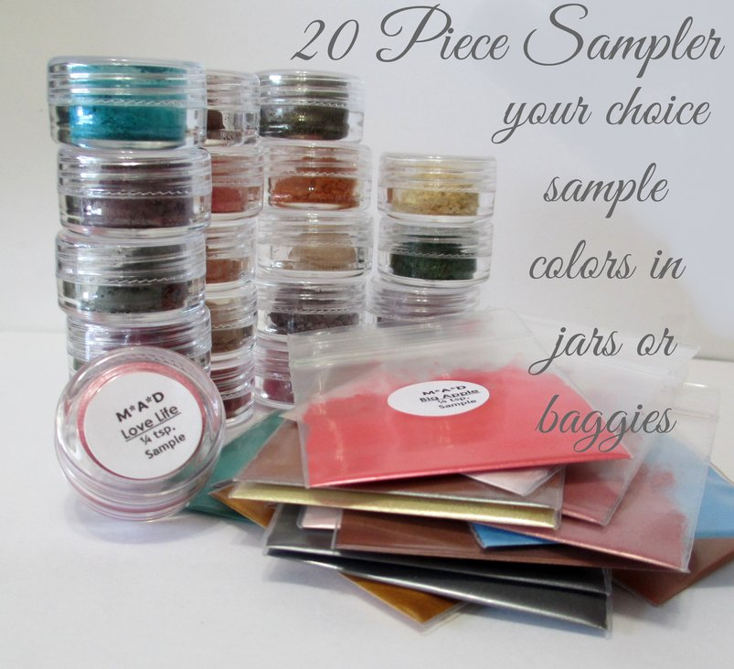 20 PC. MEGA VALUE SAMPLER SET- YOU CHOOSE THE COLORS
