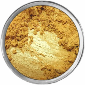 PURE GOLD MINERAL COLOR