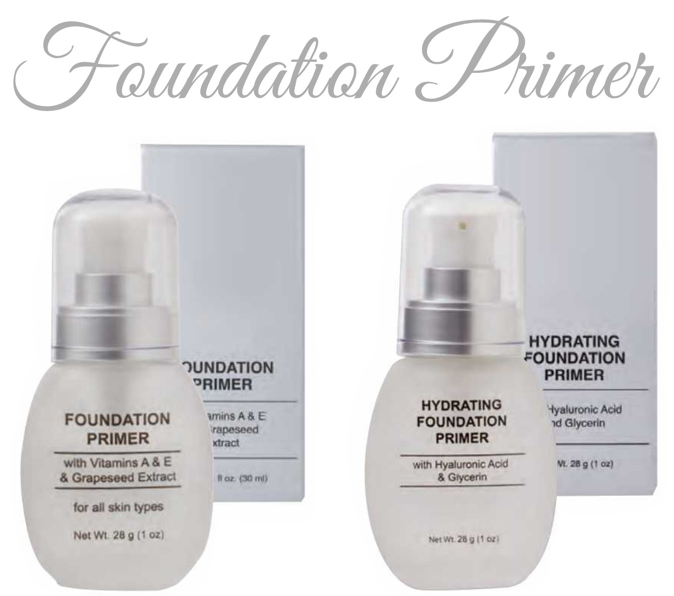 Pre-Order Foundation Primer