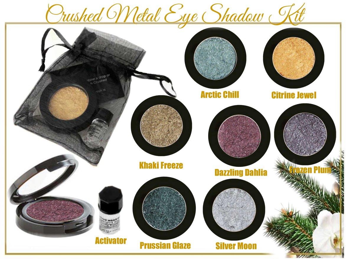 Pre-Order Holiday 2015 Crushed Metal Eye Shadow Kit