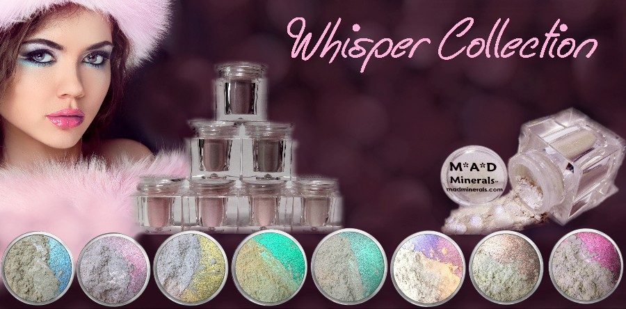 Our most popular collection are the Whispers pure iridescent goodness!